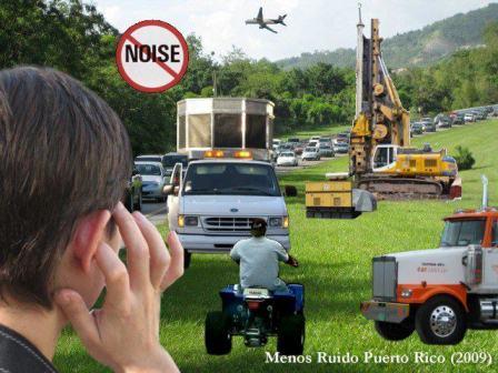 Hoy se celebra el Día para la Concienciación sobre el Ruido en Puerto Rico. (Fuente foto: http://www.facebook.com/groups/CARPR/)