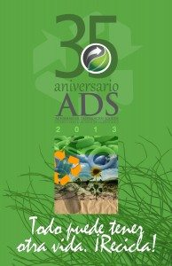 Afiche conmemorativo del 35 aniversario de la ADS.