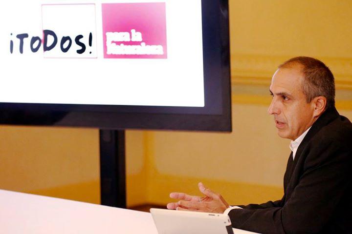 Fernando Lloveras, director ejecutivo del Fideicomiso de Conservación, anunción la nueva unidad. (suministrada)