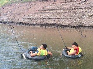 Los torneos de pesca recreativa se realizaron en las categorías de orilla, bote, kayak y tubo.