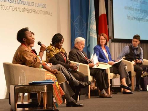 Conferencia Mundial sobre la Educación  para el Desarrollo Sostenible. (foto UNESCO)