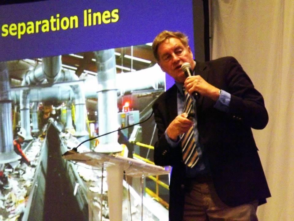 Paul Connett, experto internacional en basura cero. (fotos suministradas por Basura Cero Puerto Rico)
