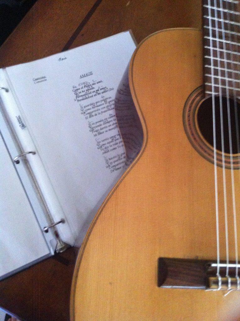 La música, los talentos y las canciones son bendiciones en mi vida. (foto por mí)