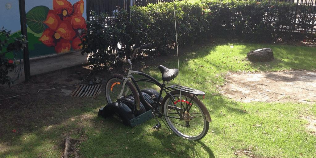 Reduzca su huella de carbono dejando el carro en su casa y moviéndose a pie o en bicicleta. (foto suministrada por COSUAM)