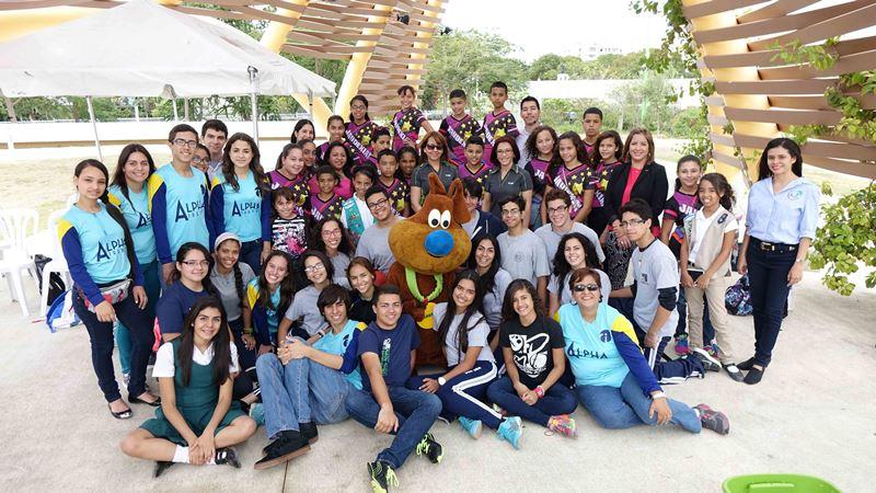Un total de 65 niños de las escuelas públicas Arturo Lluveras de Yauco y Librado Net de Ponce entre los grados de cuarto a duodécimo, participaron del primer taller educativo que se llevó a cabo en el Parque Ecológico Urbano de Ponce. (suministrada)
