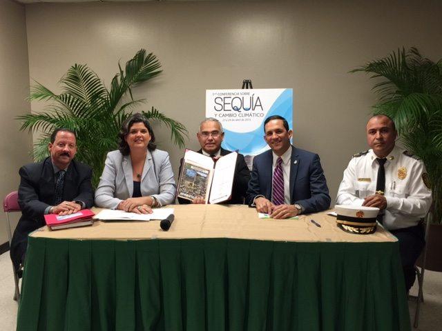 """El Protocolo fue presentado como parte del simposio: """"Sequía y cambio climático en Puerto Rico"""", que celebró el DRNA, junto a la Universidad Metropolitana y el Consejo de Cambio Climático de Puerto Rico. (suministrada)"""