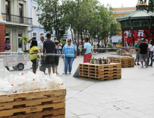 Exhiben basura marina en el Viejo San Juan el Día Mundial del Medio Ambiente