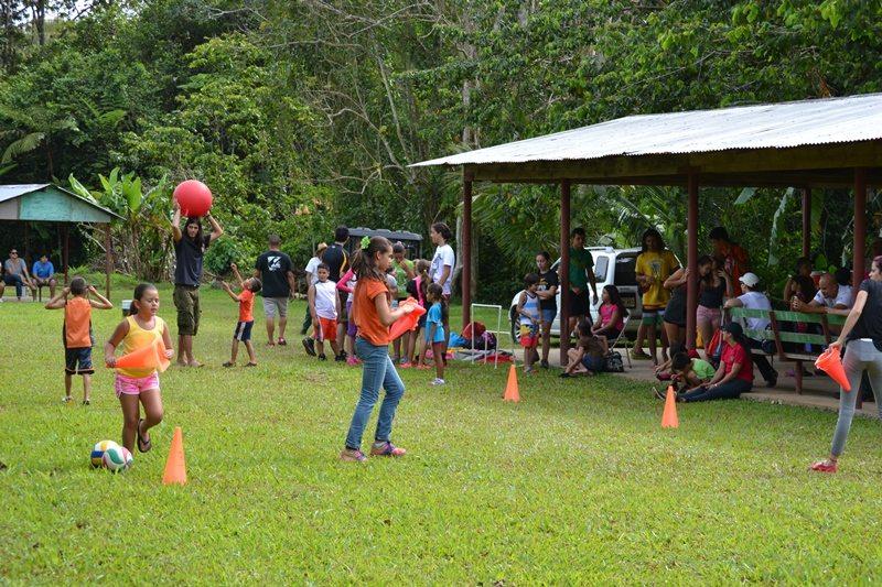 El Bosque de Monte Choca fue el escenario del campamento ambiental de Palos Blancos en Corozal. (fotos suministradas)