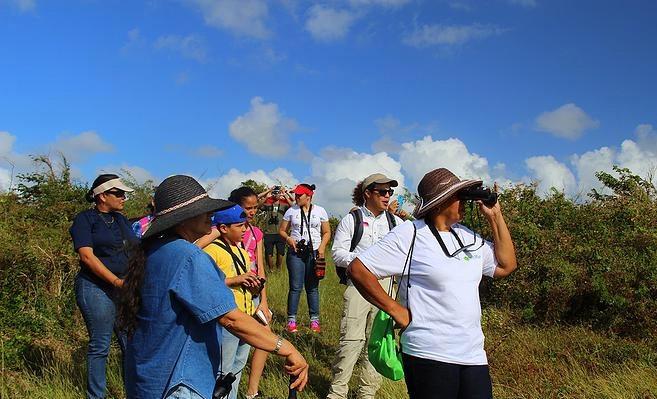 El recorrido tiene una duración de dos horas y media donde se realizan censos de aves con los participantes.