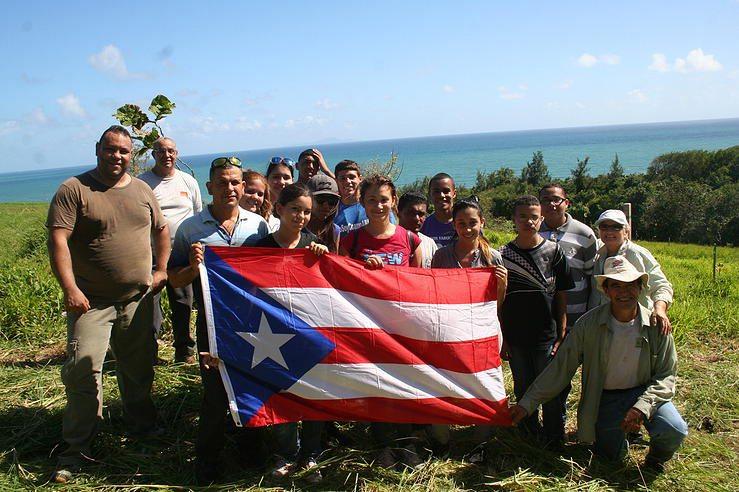 Miembros del Comité Yabucoeño Pro-Calidad de Vida