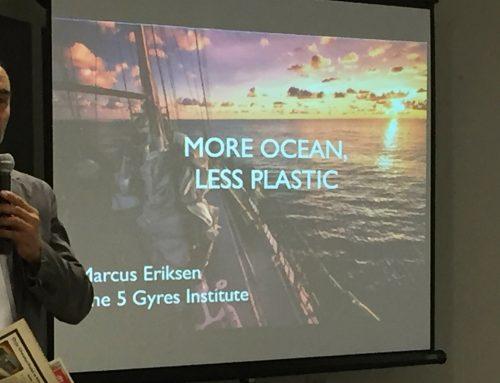 Activista ambiental y educador Marcus Eriksen urge parar el depósito de plástico en los océanos