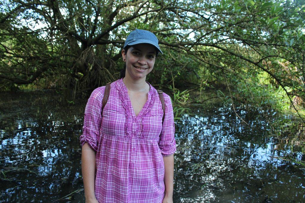 Tuve la oportunidad de recorrer el humedal con agua hasta las rodillas y sumergirme en una naturaleza visitada por pocos.